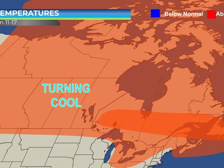 Warm Streak Continues Across Canada This Week