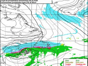 Storm Moves into Newfoundland Tonight #nlwx