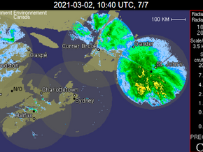 Stormy Weather Hits Newfoundland and Labrador #nlwx