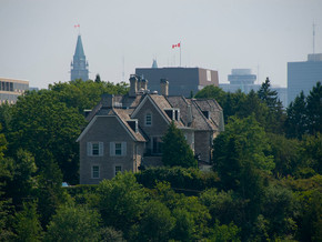 24 Sussex Drive Still Sits Vacant