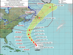Hurricane Larry could impact Newfoundland