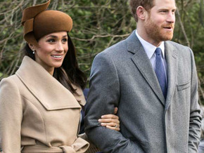 Prince Harry and Meghan announce the birth of a baby girl