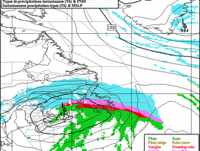 Storm Expected for Newfoundland #nlwx