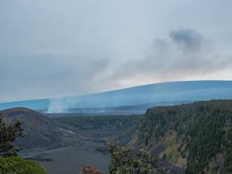 VIDEO: Kilauea Volcano's West Vent Erupts Lava