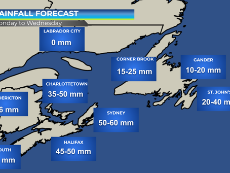 Storm Could Bring Heavy Rain to Atlantic Canada