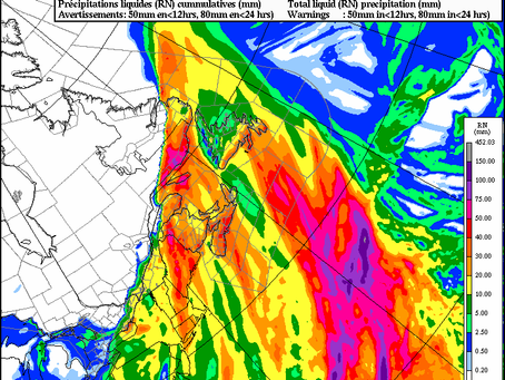 Strong Winter Storm to Push Across Quebec & Atlantic Canada