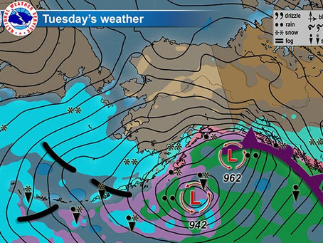 Strong Weather System to Impact British Columbia