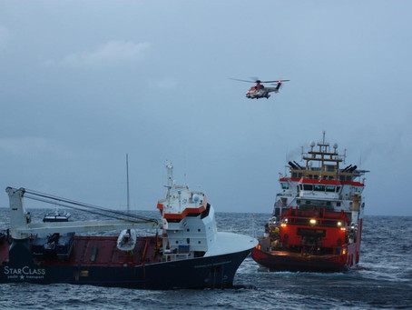 VIDEO: Crew safe after boat nearly capsizes off Norway coast