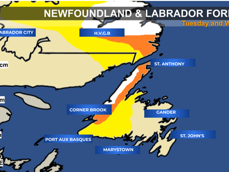 More Snow for Newfoundland & Labrador