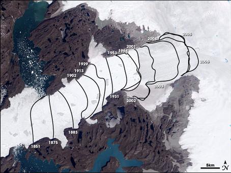 Glacier's Movement Stuns Scientists