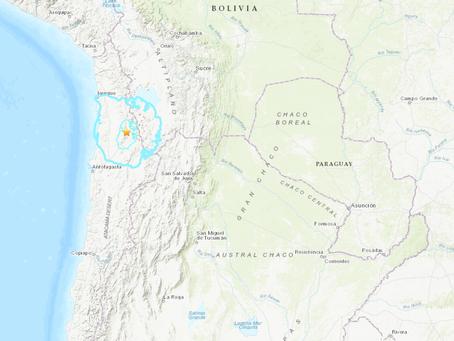 6.0 Magnitude Earthquake in Chile