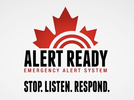National test of the Alert Ready system today