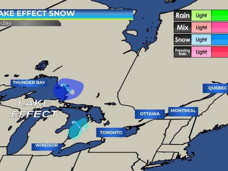 Snow Squalls Expected in Ontario #ONwx