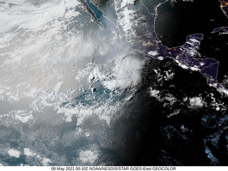 Watching a low in the Eastern North Pacific