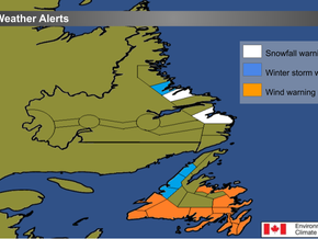 Storm Rages on in Western Newfoundland and Parts of Labrador