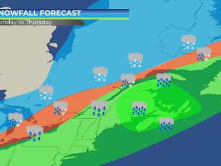 Intense Storm to Impact Ontario, Quebec, and Atlantic Canada