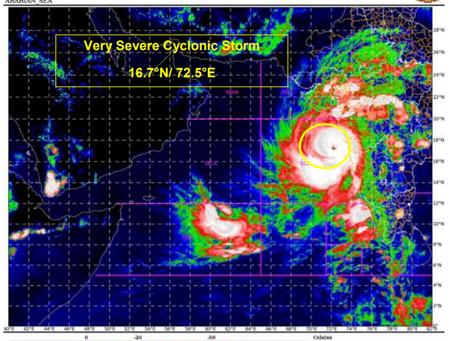 Cyclone Tauktae slams India
