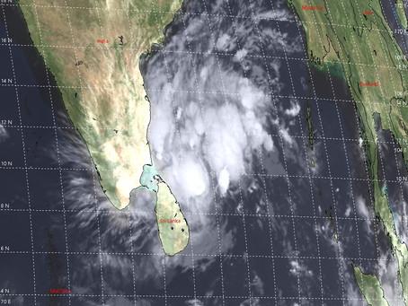 Cyclonic Storm Nivar Nears Indian Coast