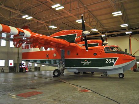 NL Providing Support to Fight Ontario Forest Fires