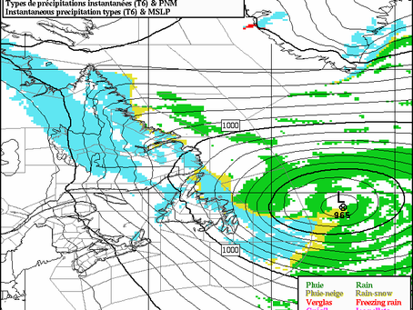 Stormy Weather Continues Across Newfoundland