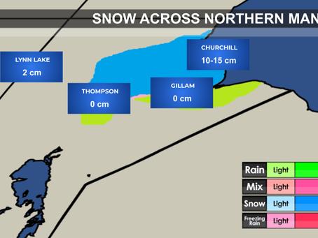 Snow Across Northern Manitoba