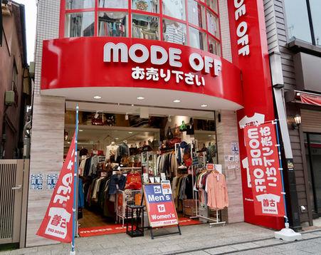 MODE OFF 川越クレアモール店