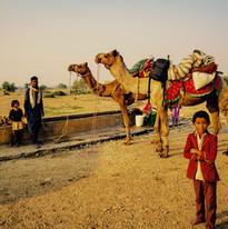 Gyspies village, Jaisalmer, Rajasthan