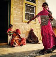 Gypsies, Thar Desert outside Jaisalmer