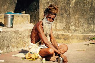 Sadhu by the Ganges