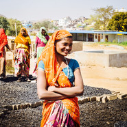 Brickmakers near Updaipur
