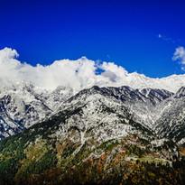 Himalayas from Dharamshala