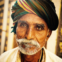 Old Man, Jaisalmer Fort, Rajasthan