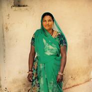 Woman in village near Udaipur