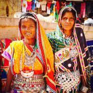 Villagers in Jaisalmer
