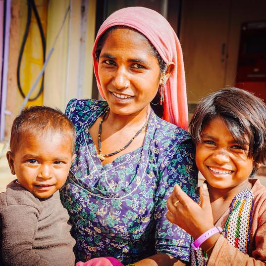 Gyspy family, Jaisalmer Fort, Rajasthan