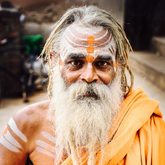 Baba at Ganges, Varanasi
