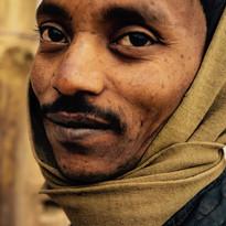 Face in Varanasi