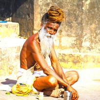 Sadhi in Rishikesh