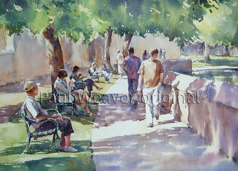 Under the Trees, Wells