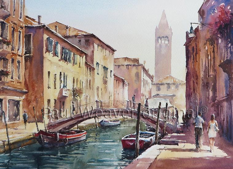 Rio San Barnaba, Venice