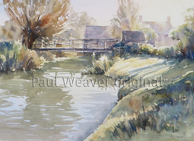 Morning Shadows, Windrush Mill