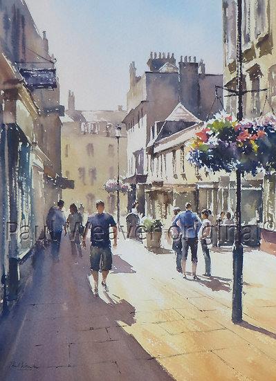 Midday Heat, Margaret's Buildings, Bath