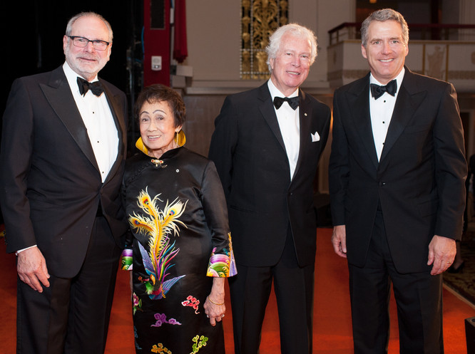 Honorees Alan Pomerantz, Dr. Patricia Ta