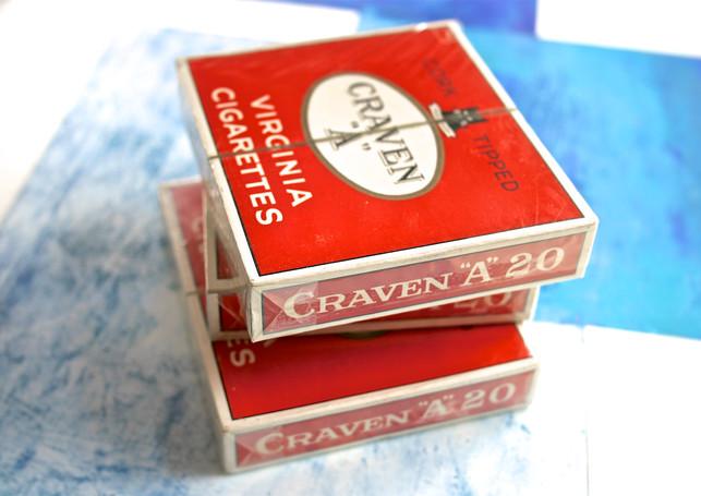 "CRAVEN ""A"" Cork Tipped"