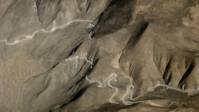 mountain road, Tibet