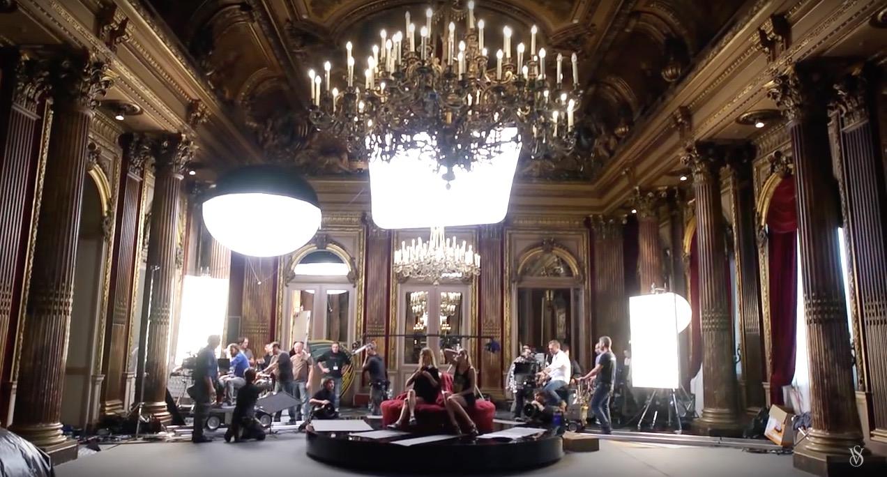 Victoria's Secret show Paris
