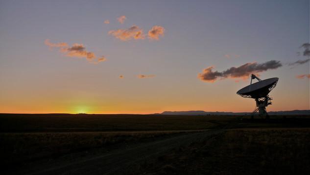VLA, Socorro, NM, US, sunset