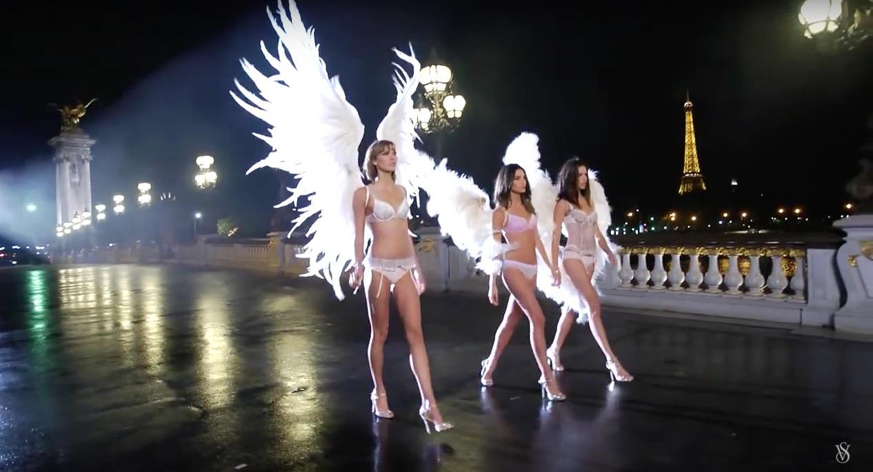 Victoria's Secret show, Paris