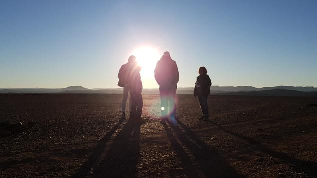 Ouarzazate, Morocco, Sunrise