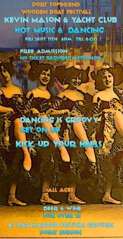 Dancing girls poster WBF15